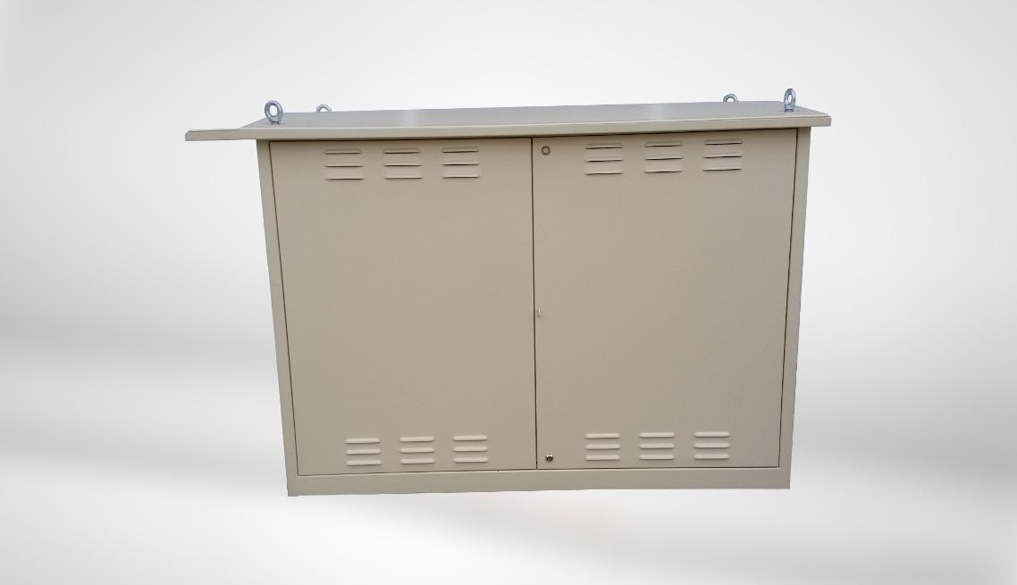 Obudowy aluminiowe specjalnego zastosowania z ramą stalową wewnątrz