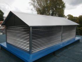 Wywietrznik dachowy ze stali nierdzewnej