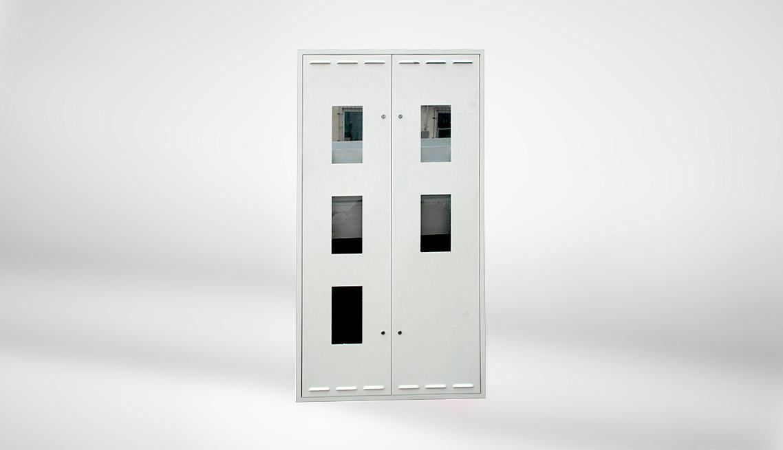 Drzwi osłonowe blokowe