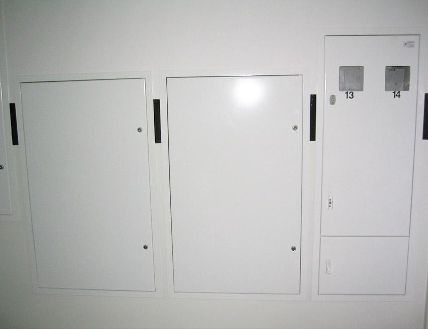 Drzwi osłonowe węzłów sanitarnych