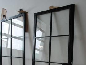 Drzwi metalowe industrialne do kuchni i pokoju