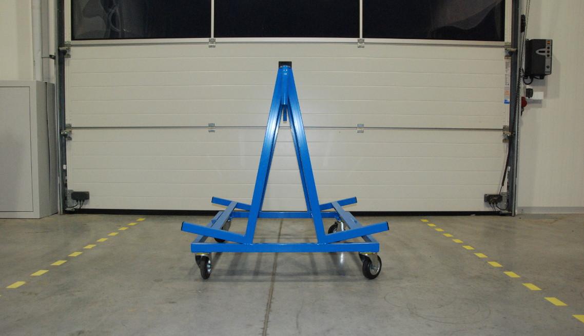 Wózek transportowy okien i drzwi