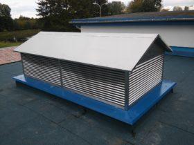 Wywietrzak dachowy na specjalne zamówienie klienta